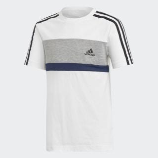 Sport ID Fleece Tee White / Mgh Solid Grey / Collegiate Navy DI0205
