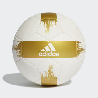 Pelota de Fútbol EPP 2 White / Gold Metallic DY2511