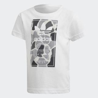 T-SHIRT (SHORT SLEEVE) L TRF C TEE WHITE/MULTICOLOR DH2471