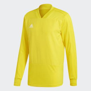 Condivo 18 Player Focus Trainingsoberteil Yellow / White CG0384