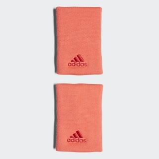Tennis Wristband Large Flash Red / Scarlet DJ0927