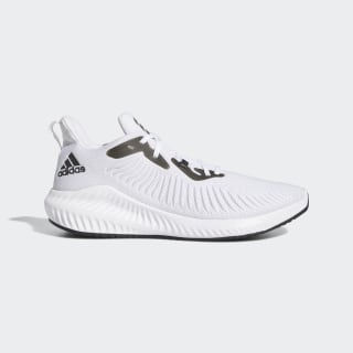 Alphabounce+ Schuh Cloud White / Core Black / Grey Two EF8061