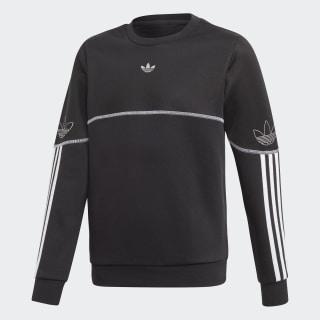 Outline Sweatshirt Black / White / Silver Metallic FM4463