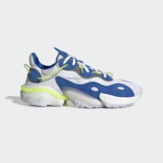 Chaussure Torsion X Blue / Cloud White / Solar Yellow EG0589