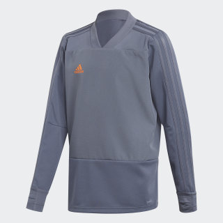 Condivo 18 Player Focus Training Top Grey / Orange CG0394