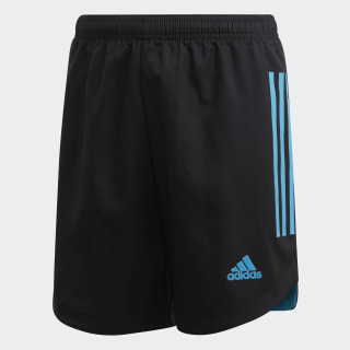 Condivo 20 Shorts Black / Bold Aqua FM2702