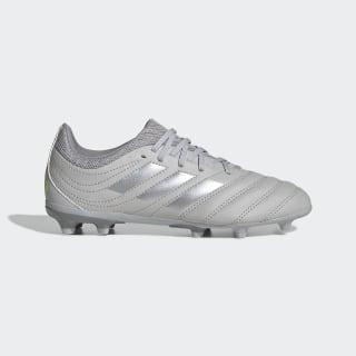 Chuteira Copa 20.3 Campo Grey Two / Silver Metallic / Solar Yellow EF8332