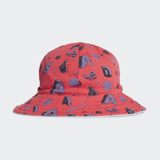 Bucket Hat Core Pink / Dash Green / Core Pink FL8995
