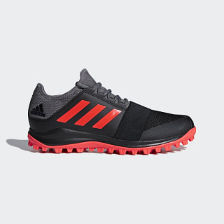 Zapatillas HOCKEY DIVOX 1.9S CORE BLACK/SOLAR RED/GREY FOUR F17 AC8786