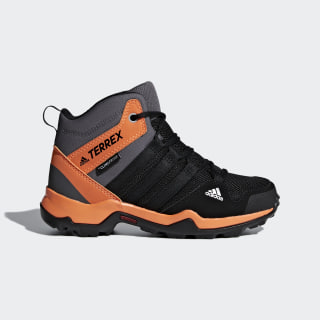 Terrex AX2R Mid Climaproof Shoes Core Black / Core Black / Hi-Res Orange AC7977