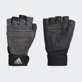 Primeknit Gloves Black / Charcoal Solid Grey / Matte Silver DT7954