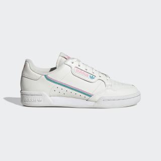 Continental 80 Shoes Off White / True Pink / Hi-Res Aqua EE6415