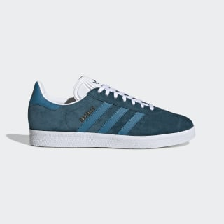 Gazelle Shoes Tech Mineral / Active Teal / Cloud White EE5536