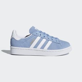 Campus Shoes Ash Blue / Cloud White / Cloud White DB1351