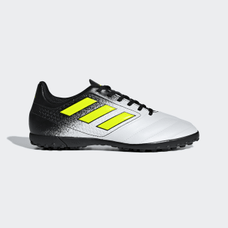 Calzado de Fútbol ACE 17.4 Césped Artificial FTWR WHITE/SOLAR YELLOW/CORE BLACK S77117