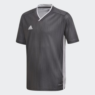 Tiro 19 Jersey Solid Grey / White DP3181