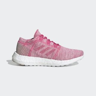 Chaussure Pureboost Go Semi Solar Pink / Semi Solar Pink / Clear Brown F34010