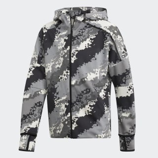 Sudadera YB ZNE AOP HD raw white / grey three f17 / grey four f17 / grey six DV1612