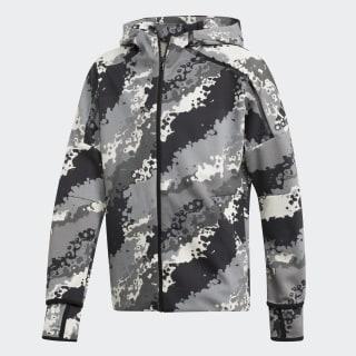 adidas Z.N.E. Graphic Hoodie Raw White / Grey / Grey / Grey DV1612