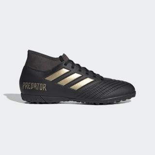 Zapatillas de Fútbol Predator 19.4 Césped Artificial Core Black / Gold Metallic / Utility Black EF0412