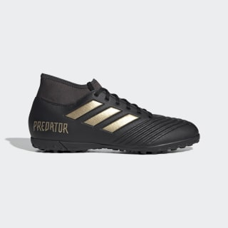 Zapatos de Fútbol Predator 19.4 Césped Artificial Core Black / Gold Metallic / Utility Black EF0412