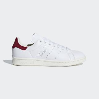 Stan Smith Shoes Ftwr White / Ftwr White / Collegiate Burgundy AQ0887