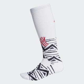 Alphaskin Graphic Cushioned Socken White / Black / Scarlet FI9349
