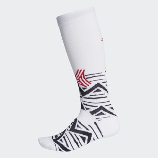 Calzettoni Alphaskin Graphic Cushioned White / Black / Scarlet FI9349