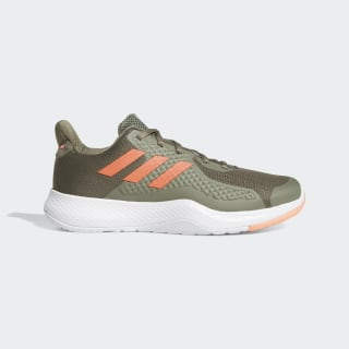 Tênis FitBounce Legacy Green / Signal Coral / Legend Earth EE4615