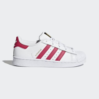 Zapatillas Superstar Foundation Cloud White / Bold Pink / Cloud White BA8382