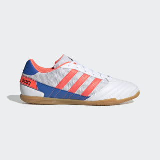 Botas de Futebol Super Sala Cloud White / Signal Coral / Glory Blue FV2560