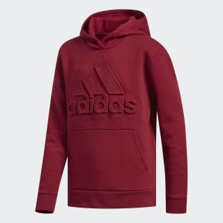 EMBOSS BADGE OF SPORT PULLOVER Burgundy CK6873