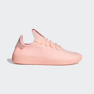 Pharrell Williams Tennis Hu Shoes Clear Orange / Cloud White / Core Black D96551