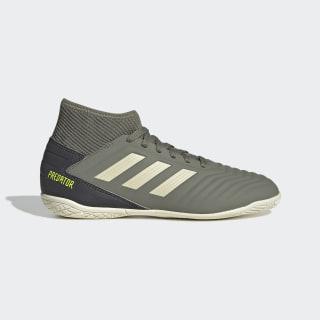 Футбольные бутсы (футзалки) Predator Tango 19.3 IN Legacy Green / Sand / Solar Yellow EF8219