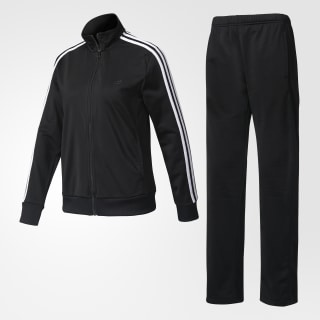 Conjunto Track Suit BLACK/WHITE/BLACK BP8224