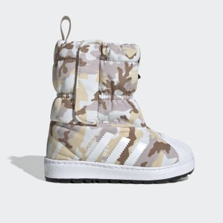 Superstar Winterstiefel White Tint / Cloud White / Clear Brown EE7263