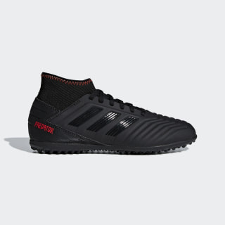 Predator Tango 19.3 Turf Boots Core Black / Core Black / Active Red D98012