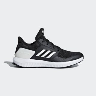 RapidaRun Knit sko Core Black / Cloud White / Carbon AH2610