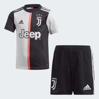 Miniconjunto primera equipación Juventus Black / White DW5464