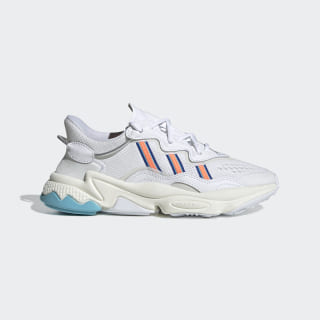 Кроссовки OZWEEGO Cloud White / Signal Coral / Blue Glow EF4290