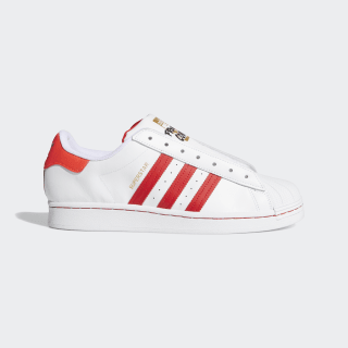 Chaussure Superstar Laceless Cloud White / Team Colleg Red / Solar Red FV2803