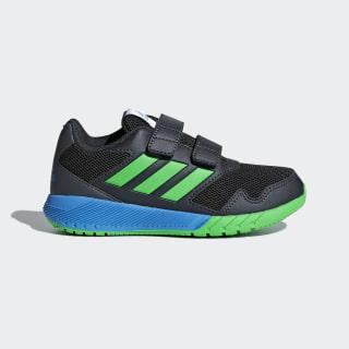 AltaRun sko Carbon / Vivid Green / Bright Blue AH2408