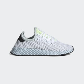 Chaussure Deerupt Runner Blue Tint / Ash Grey / Hi-Res Yellow CG6094
