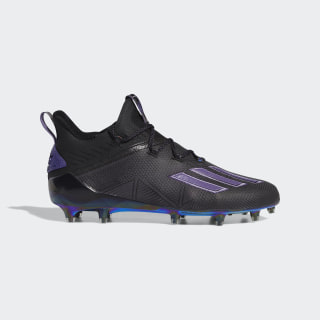 Adizero New Reign Cleats Core Black / Tech Purple / Core Black EF8600