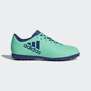 Zapatos de Fútbol X Tango 17.4 Césped Artificial AERO GREEN S18/UNITY INK F16/HI-RES GREEN S18 CP9045