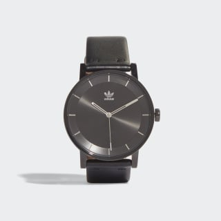 DISTRICT_L1 Horloge Black / Silver Met. CJ6331