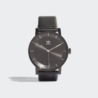 Hodinky DISTRICT_L1 Black / Silver Met. CJ6331