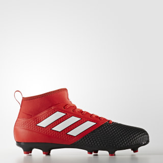 Calzado Fútbol Ace 17.3 Primemesh Terreno Firma RED/FTWR WHITE/CORE BLACK BA8506