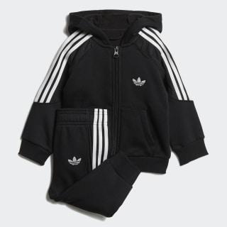 Комплект: толстовка и брюки Radkin black / white DV2837