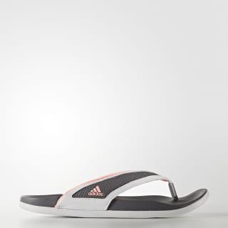 Sandalias adilette CF+ summer Y W ftwr white / haze coral / trace grey S81199